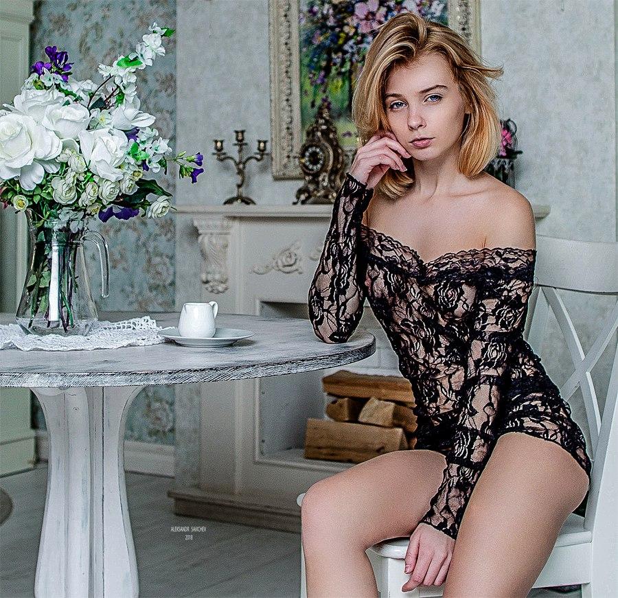 Marta Gromova by Aleksandr Sergeevich (Savichev) (NSFW)