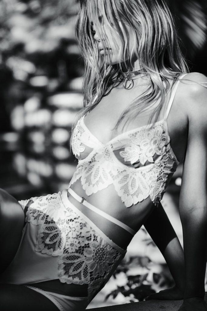 Smoldering Blonde Frida Aasen Looks Amazing in Revealing Lingerie gallery, pic 15