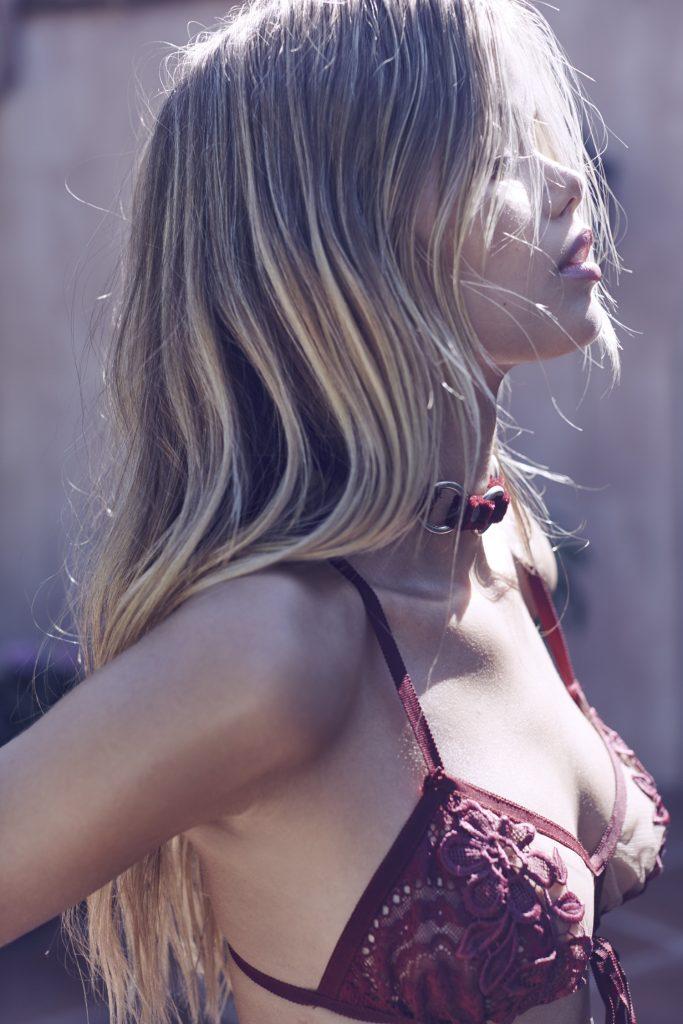 Smoldering Blonde Frida Aasen Looks Amazing in Revealing Lingerie gallery, pic 23