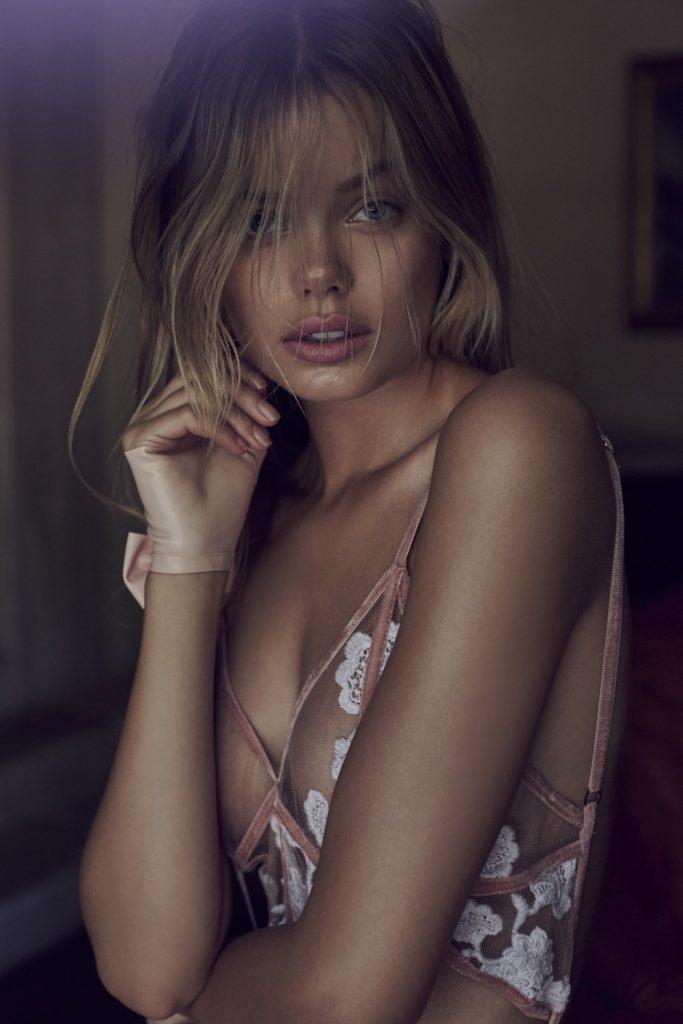 Smoldering Blonde Frida Aasen Looks Amazing in Revealing Lingerie gallery, pic 28