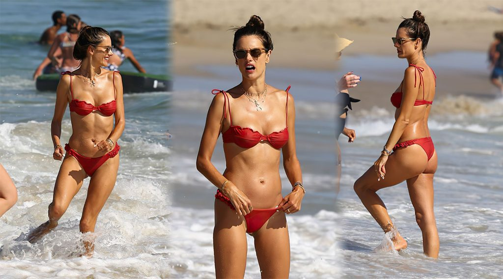 Bikini-Clad Alessandra Ambrosio Looks Perfect Without Even Trying Hard gallery, pic 97