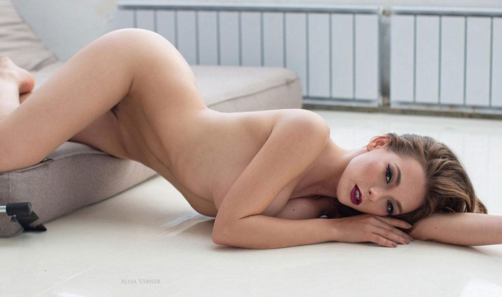Busty Model Olga Kobzar Proudly Displaying Her Gorgeous Bush gallery, pic 13