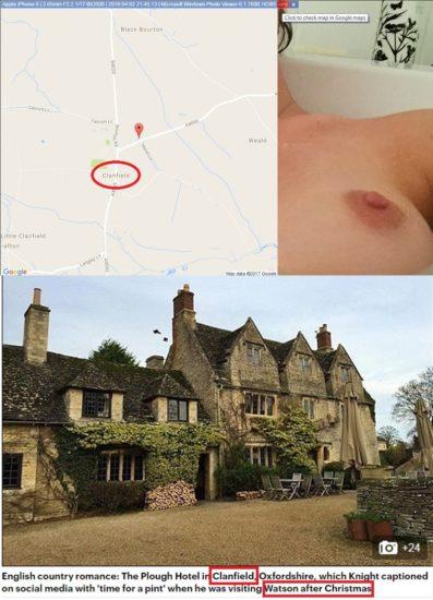 Emma Watson nude tits proof