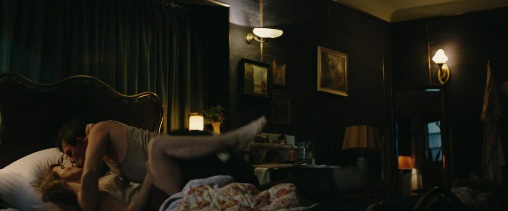 Jessica Chastain's Sex Scene from The Zookeeper's Wife (2017)