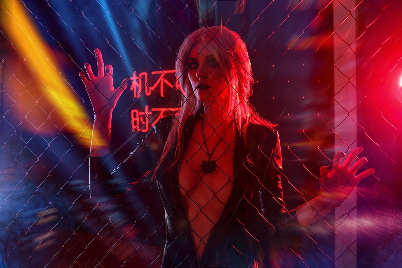 Anya Kosik by Evgeny Nakryshsky 'Cyberpunk 2077 Ciri'