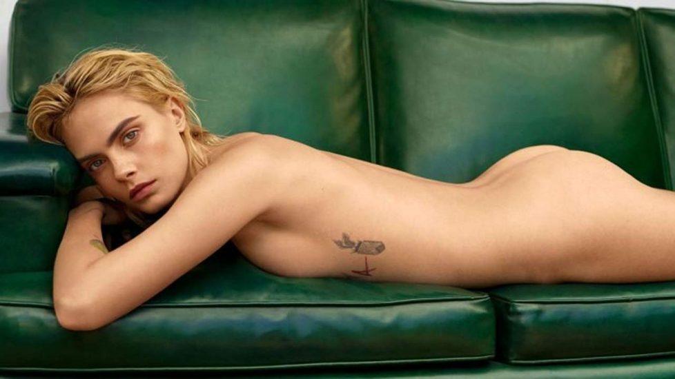 Cara Delevingne nude ass