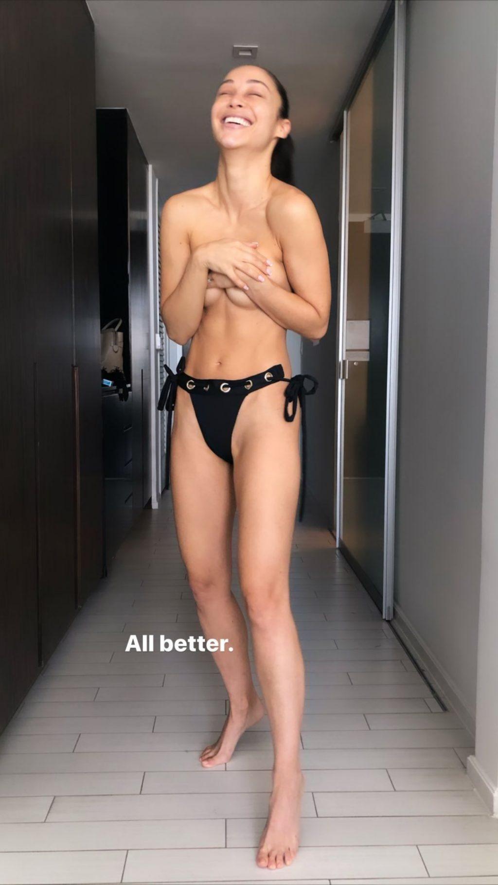 Cara Santana in Bikini (+ Bonus Topless Pictures)
