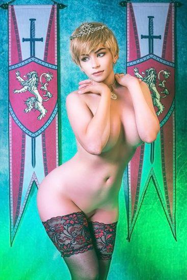 pussy of Danielle Beaulieu as cersei