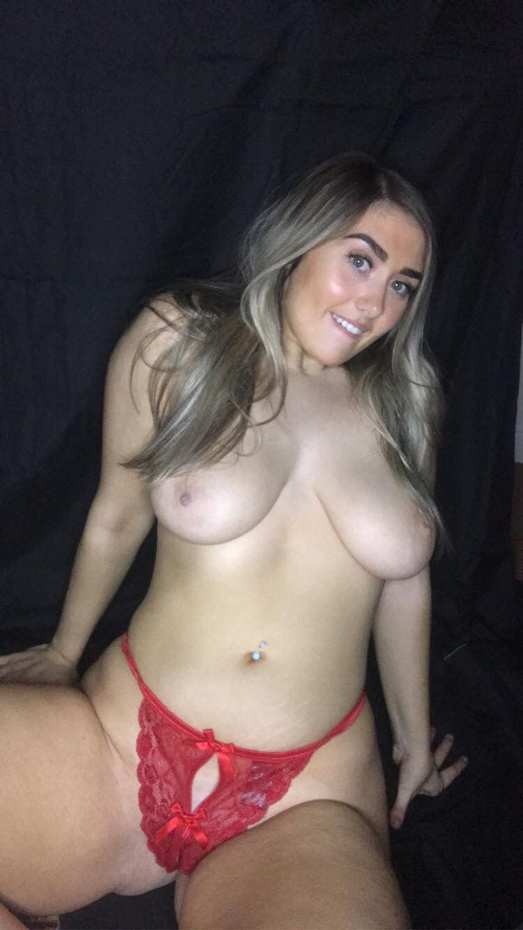 Chubby Blonde Erika O'Sullivan Shows Her Pussy and More