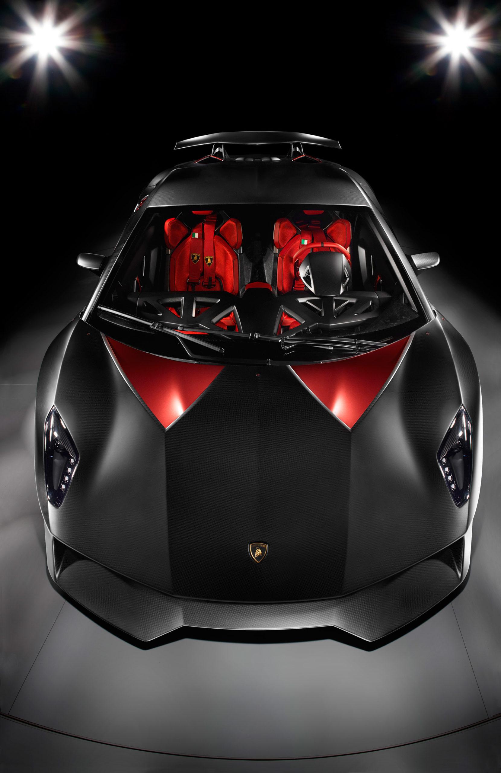 Lamborghini Sesto Elemento Concept by William Crozes