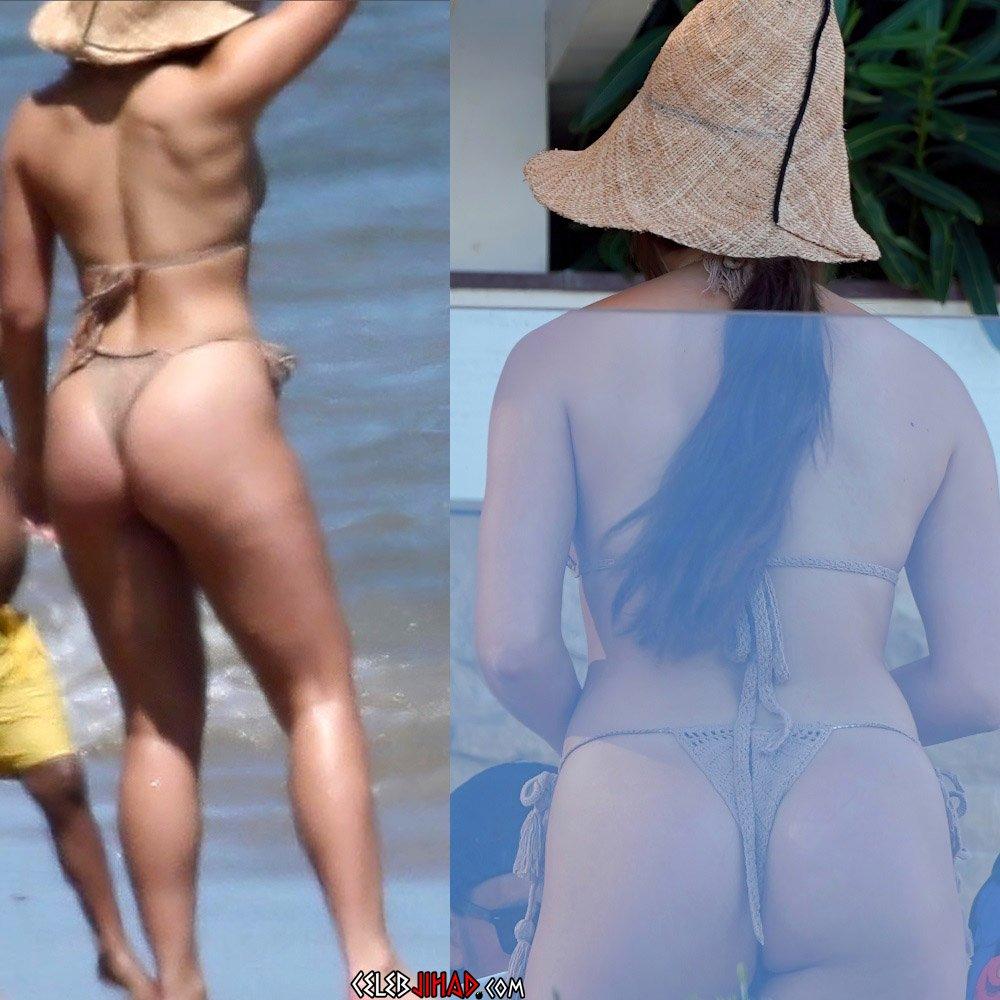 Addison Rae thong ass