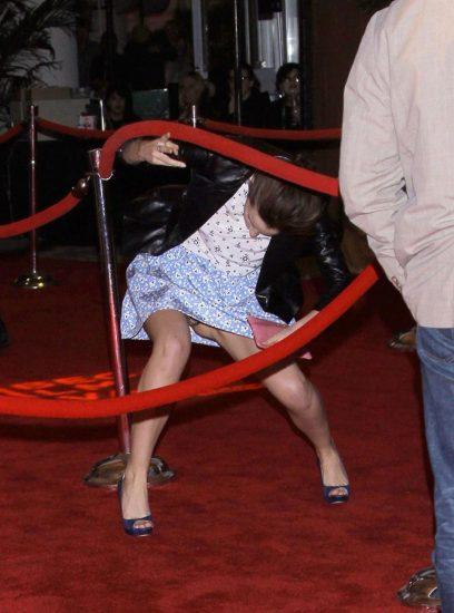 Emma Watson panties while upskirt