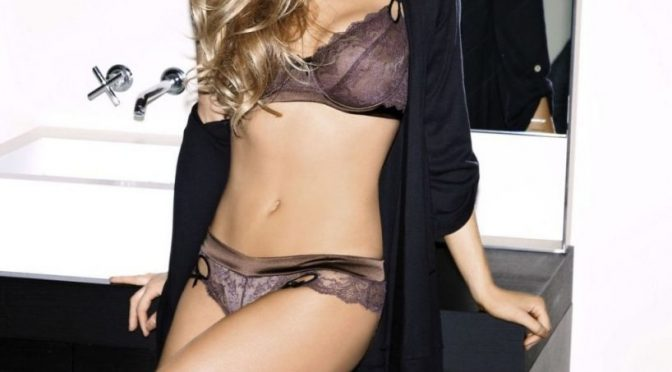 Long-Legged Beauty Katheryn Winnick Shows Her Enviable Body in Sexy Lingerie