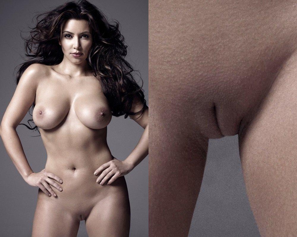Kim Kardashian nude pussy