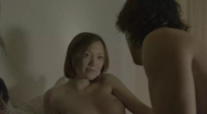 Topless Beauty Pom Klementieff Showing Her Large Tits in a Vaguely Lesbian Scene