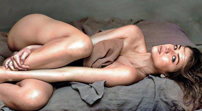 Ana de Armas Nipple Pokies Outtakes Colorized