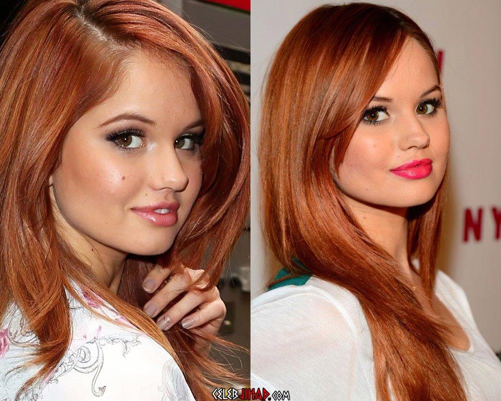 Debby Ryan redhead