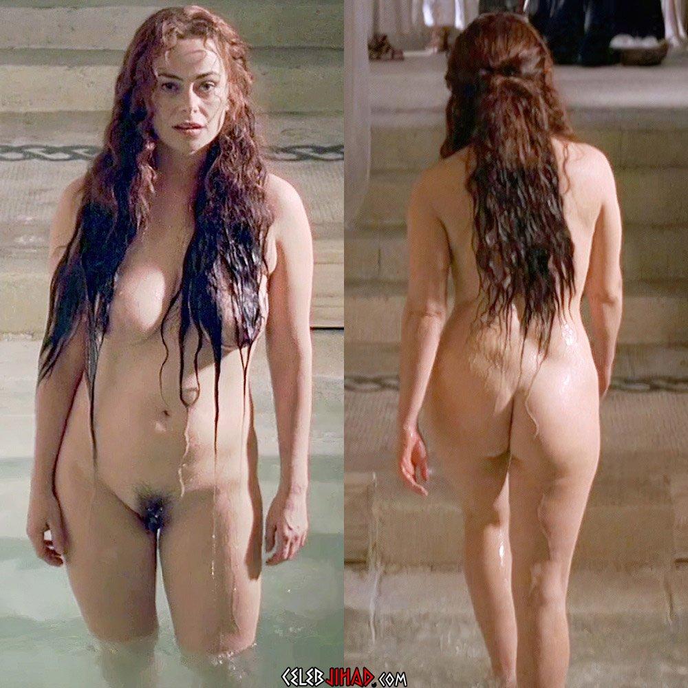 Polly Walker nude