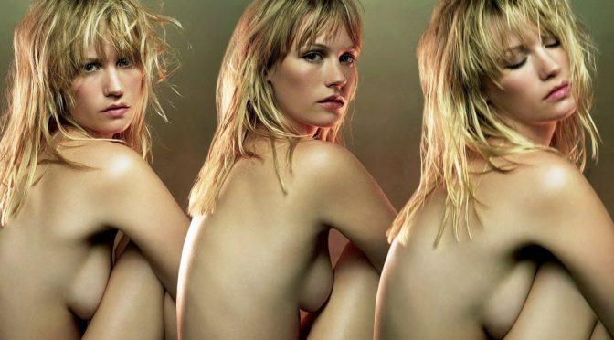 January Jones Nude Compilation Enhanced