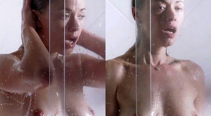 """Kristanna Loken Nude Lesbian Sex Scenes From """"Body of Deceit"""" Enhanced"""