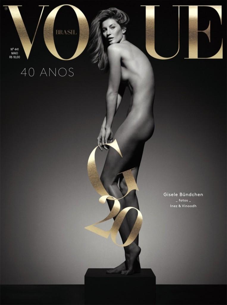 gisele bundchen naked vogue brazil may 2015 cover 763x1024 TheFappening.nu