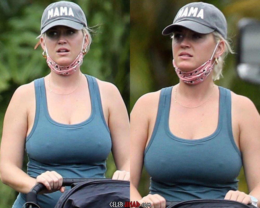 Katy Perry MILF boobs