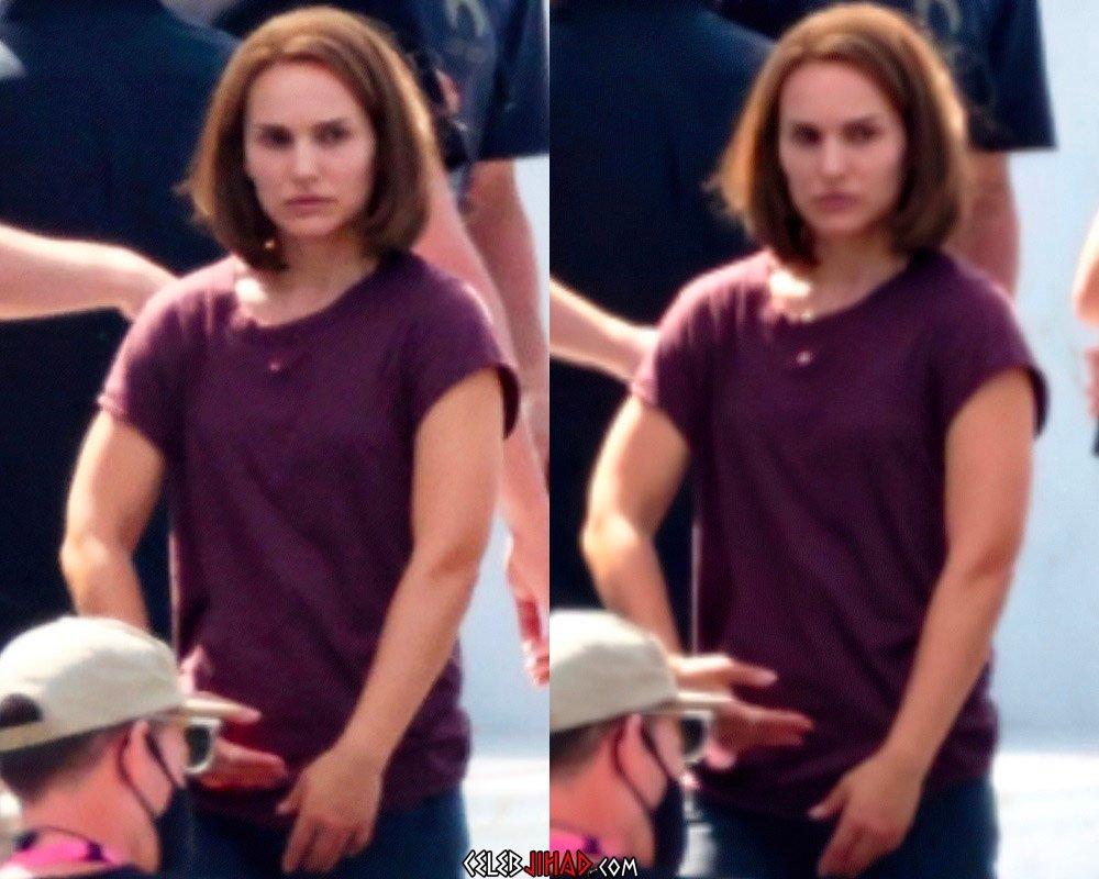 Natalie Portman Thor muscles