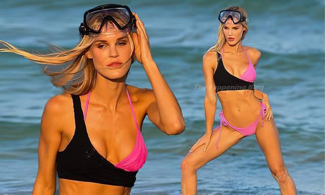 Joy Corrigan on Beach 1