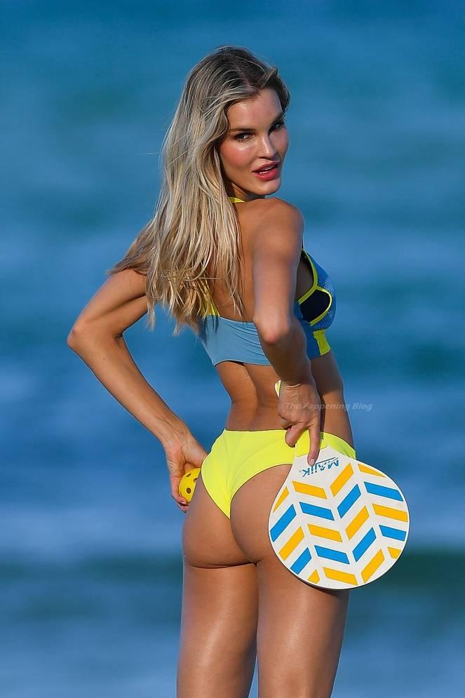 Joy Corrigan on Beach 3