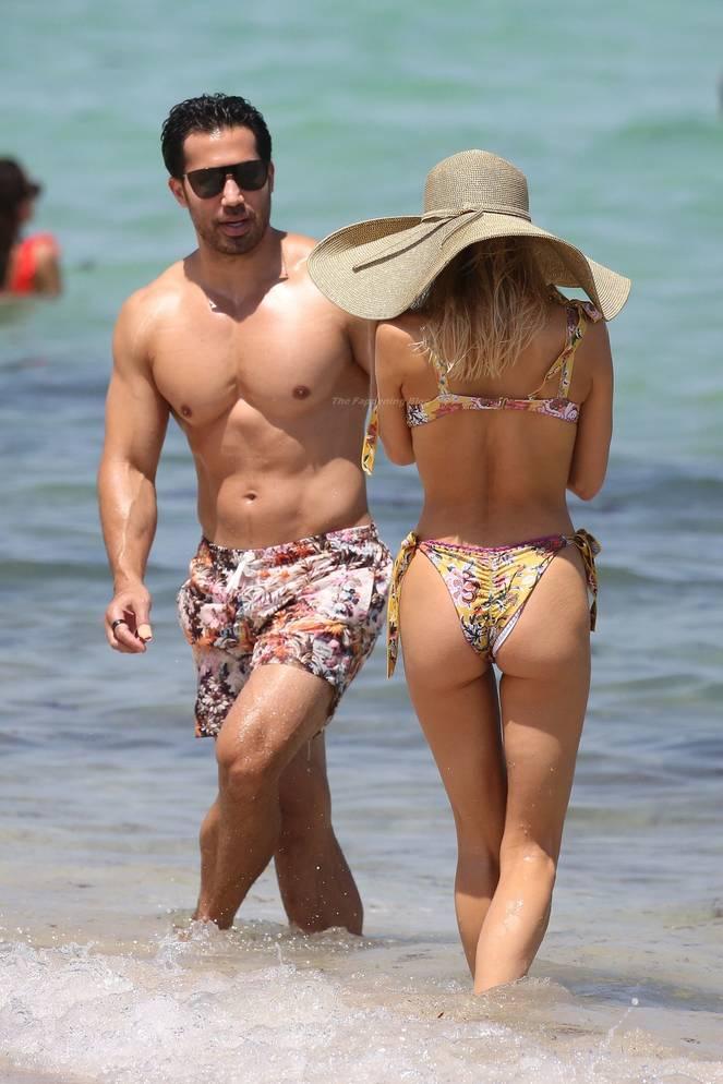 Joy Corrigan on Beach Bikini 4