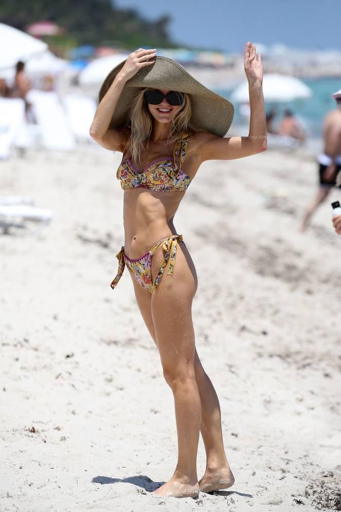 Joy Corrigan on Beach Bikini 5