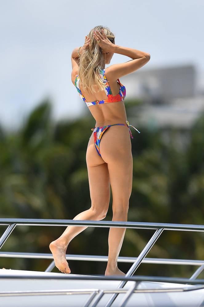 Joy Corrigan on Beach Swimsuit 7