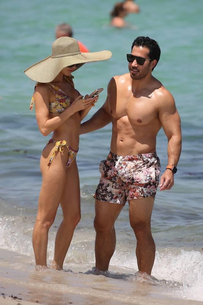 Joy Corrigan on Beach Bikini 8