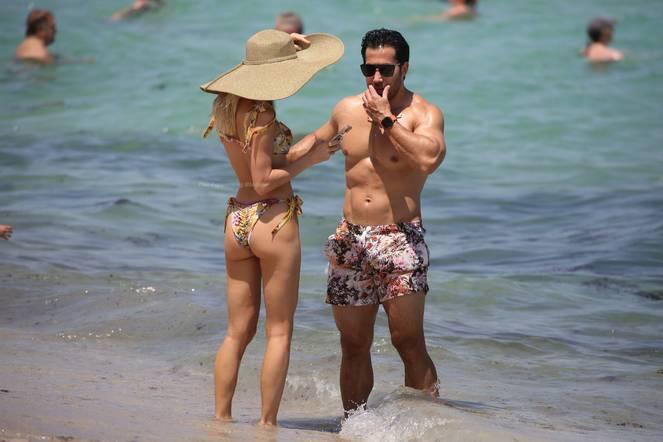 Joy Corrigan on Beach Bikini 10