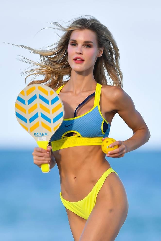 Joy Corrigan on Beach 11