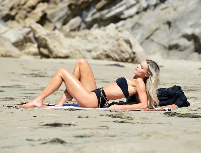 Joy Corrigan on Beach Photoshoot 12
