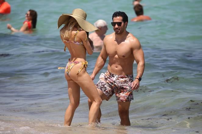 Joy Corrigan on Beach Bikini 12