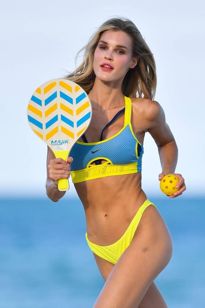 Joy Corrigan on Beach 15