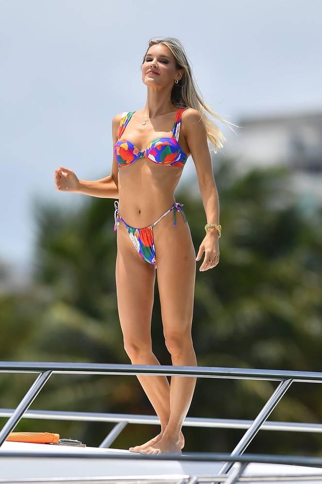 Joy Corrigan on Beach Swimsuit 15