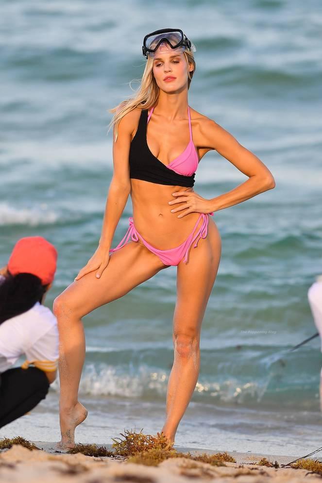 Joy Corrigan on Beach 17