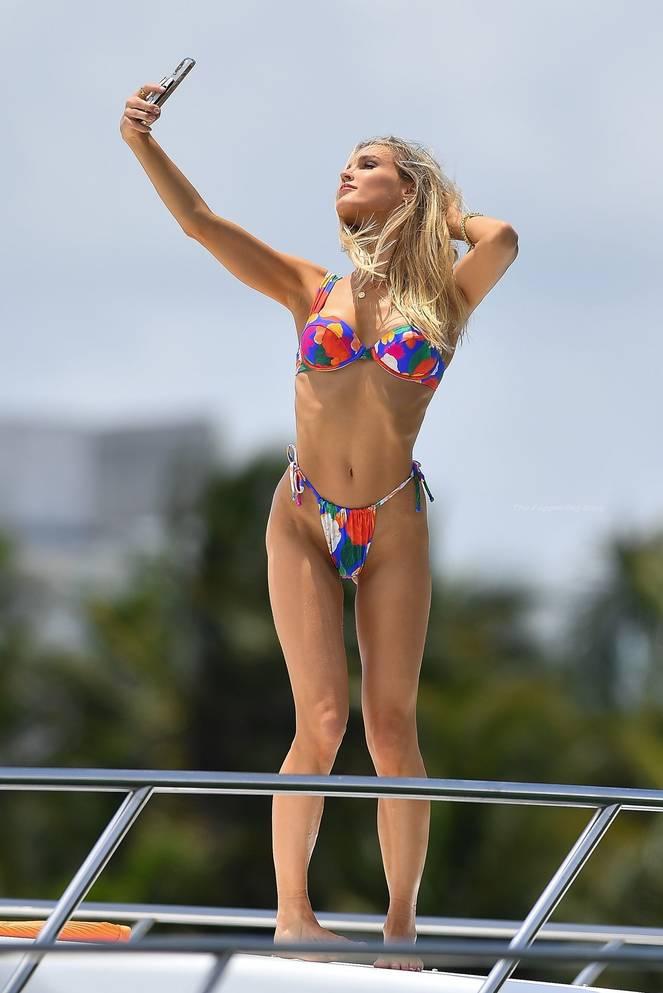 Joy Corrigan on Beach Swimsuit 19