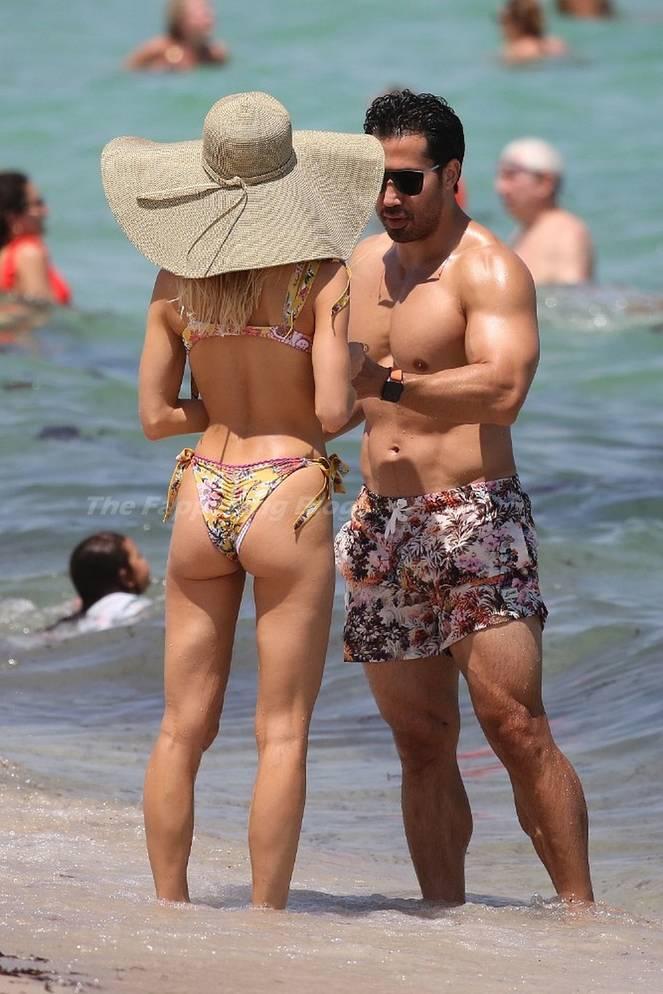 Joy Corrigan on Beach Bikini 21
