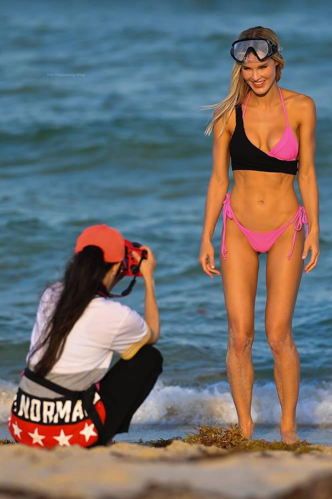 Joy Corrigan on Beach 21