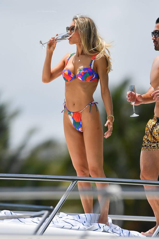 Joy Corrigan on Beach Swimsuit 23