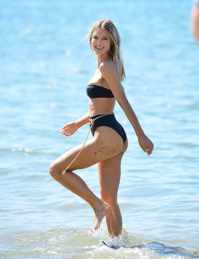 Joy Corrigan on Beach Photoshoot 27