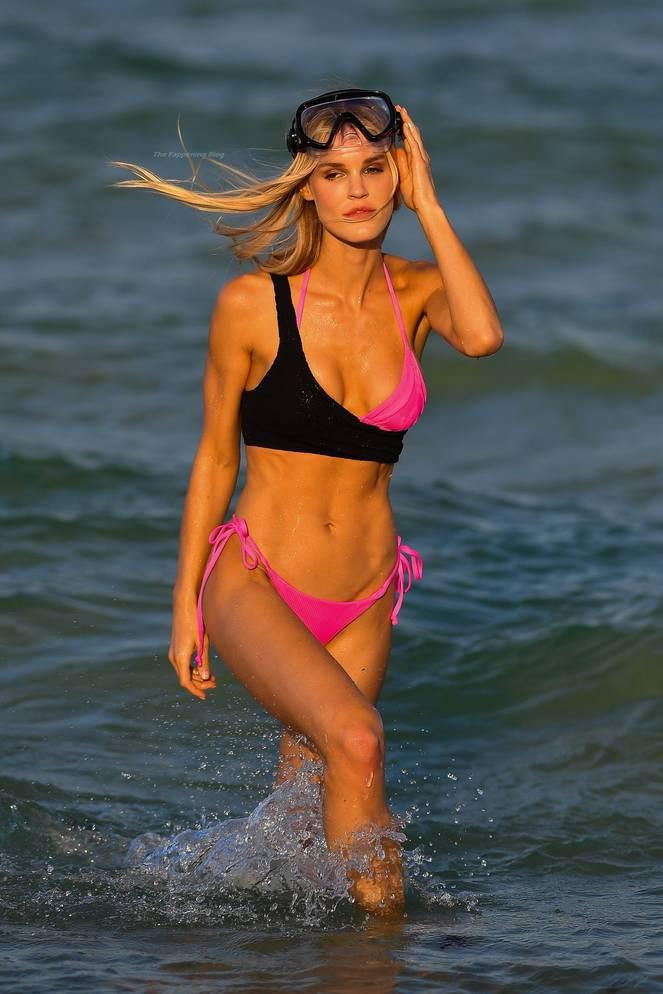 Joy Corrigan on Beach 33