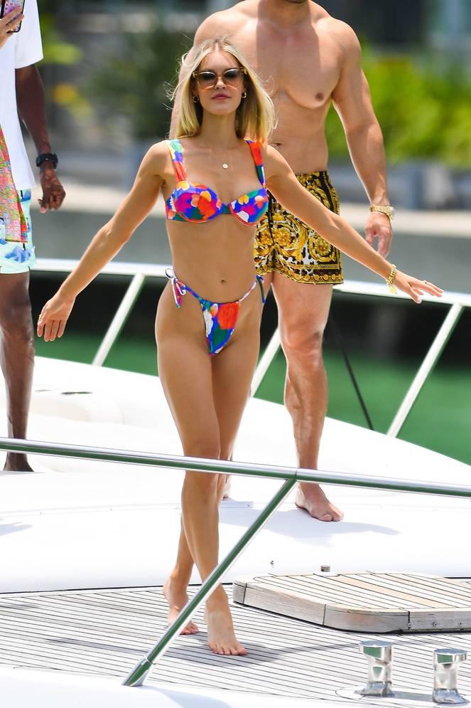 Joy Corrigan on Beach Swimsuit 41