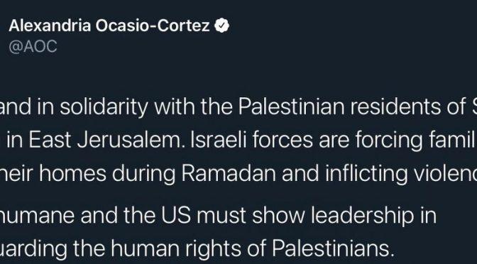 Alexandria Ocasio-Cortez Blasts Israel In An Explosive Nude Interview