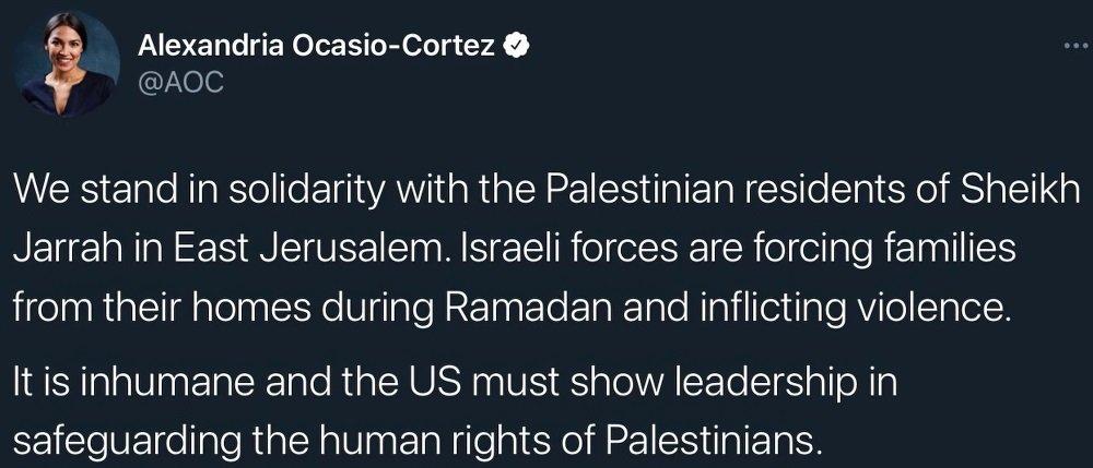 AOC Palestine