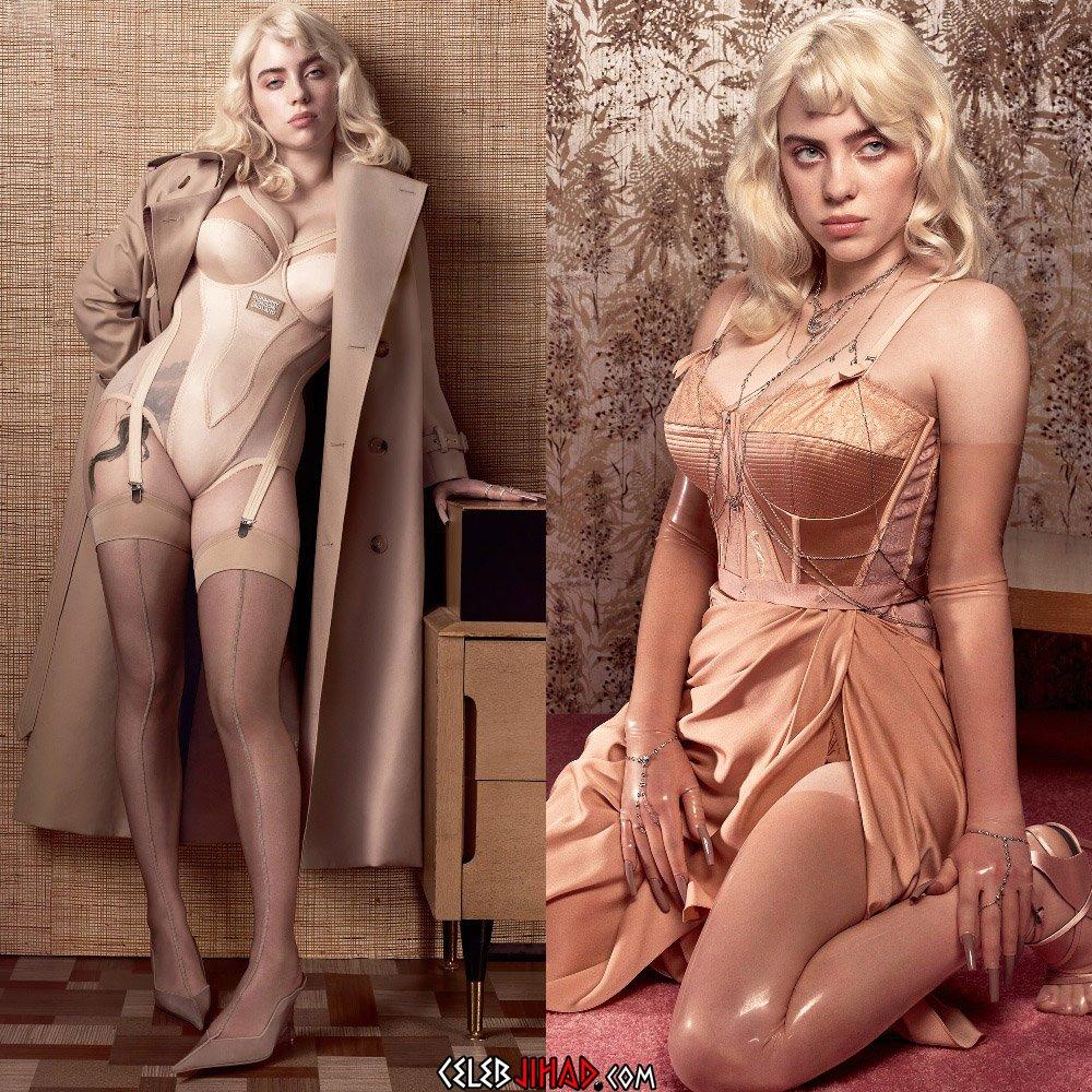 Billie Eilish lingerie